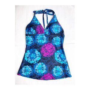 Hapari Tankini Swim Suit Modest Top Floral